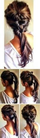 how to stack hair step by step 7 super cute everyday hairstyles for medium length hair