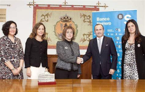 banco herrero en leon el banco herrero firma un convenio con el colegio de