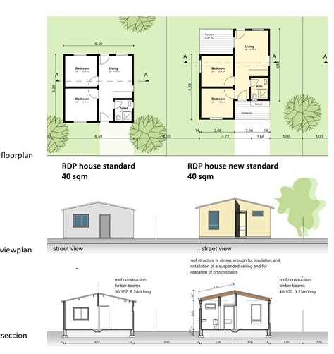 rdp plans floor plan of rdp houses