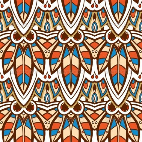 pattern illustrator indian seamless indian pattern graphicriver