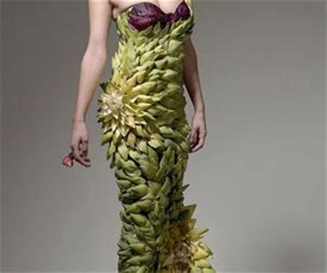 Unique Clothing from Food Material