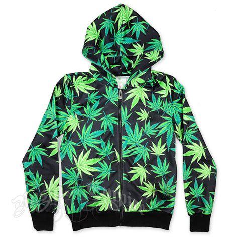 Hoodie Sweater Smoke Cannabis marijuana leaves track jacket hoodie s