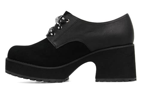 shelly shoes shellys vraspir lace up shoes in black at sarenza