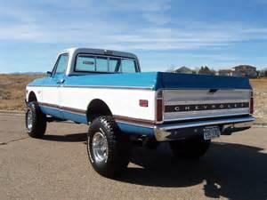 Big Wheels Spray Truck For Sale Big Block 4x4 Restored 1972 Chevrolet K10 4 Speed Bring