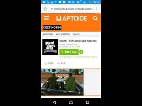 aptoide gta 5 mobile como instalar gta sa android usando aptoide youtube