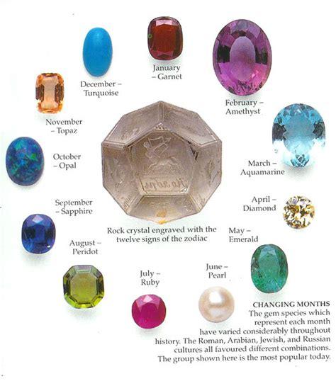 zodiac gemstones gateway2thegods