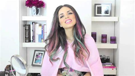 hair dye for mexicans pink blue fishtail braid hair tutorial w garnier color
