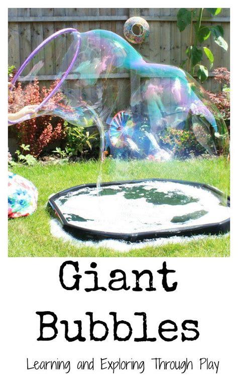 backyard bubble 25 best ideas about outdoor fun on pinterest outdoor