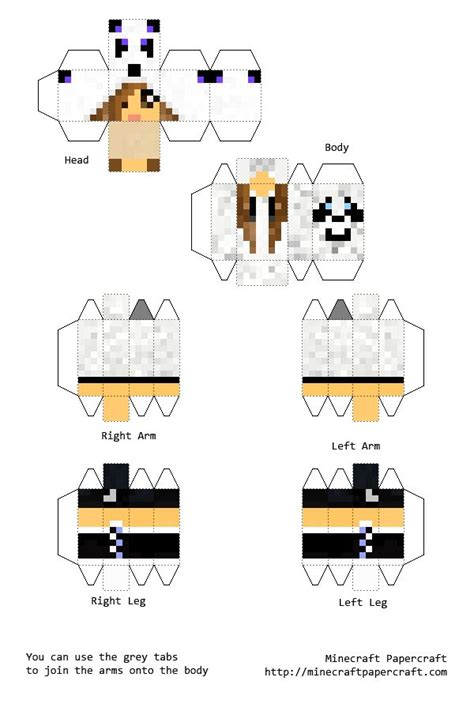 Minecraft Papercraft Skin Maker - minecraft papercraft pictures to pin on