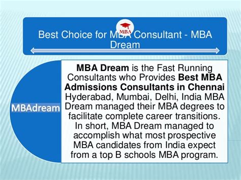 Ideal Post Mba best mba admission consultants in chennai mba