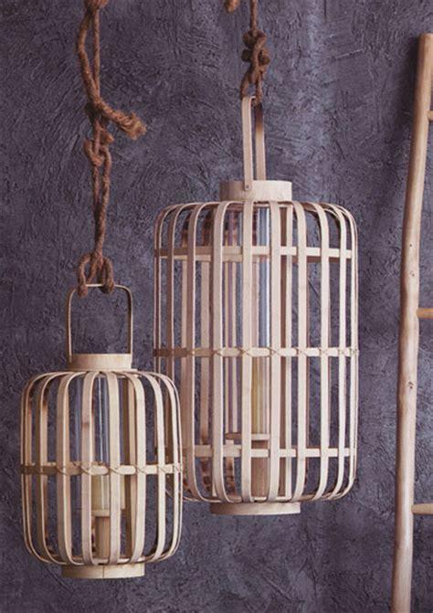 Junzi Bent Bamboo Lantern Lights: NOVA68.com