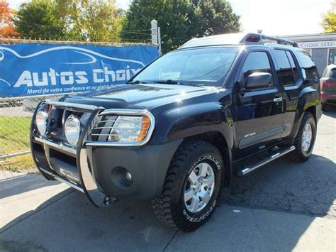 nissan xterra dealership 2007 nissan xterra road 4dr 4x4 black autos choix