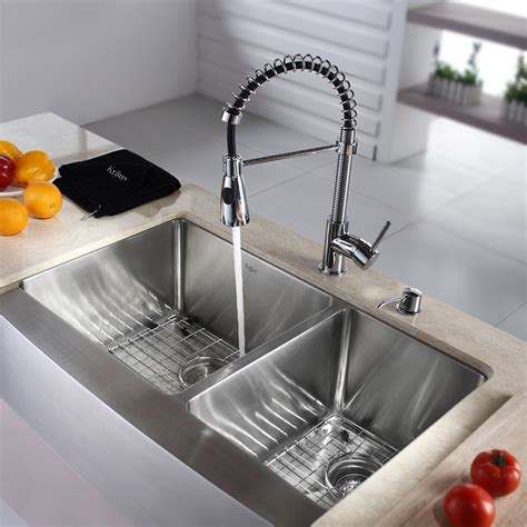 kitchen sink and faucet combinations kitchen faucets and sink combinations