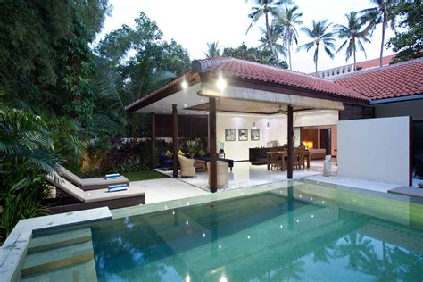 one bedroom villa with private pool bali pool villa seminyak one bedroom open living villa