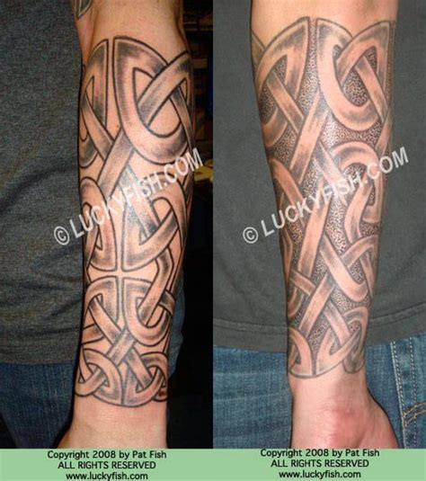 celtic forearm tattoo designs 13 best celtic sleeve tattoos images on celtic