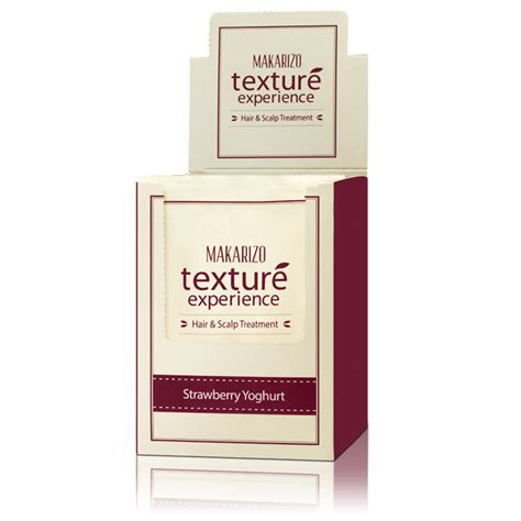 Harga Makarizo Texture Experience Strawberry Yogurt texture experience hair scalp strawberry yoghurt