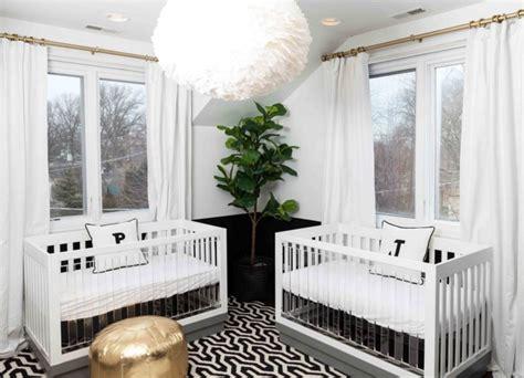 chambre de jumeaux 14 adorables chambres de b 233 b 233 s pour jumeaux bricobistro