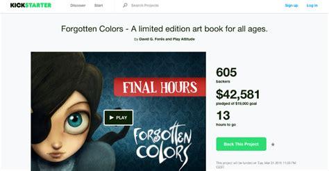 Forgotten Colors forgotten colors un caso de 233 xito espa 241 ol en kickstarter