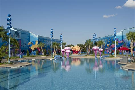 walt disney world sart of animation resort disney s art of animation resort big blue pool magical