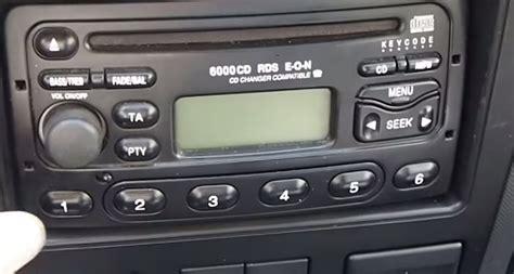 format cd autoradio autoradio ford 6000 cd notice
