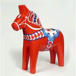 swedish dala horseart and design inspiration from around
