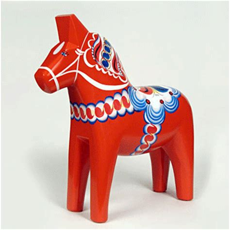 dalarna pferd swedish dala horseart and design inspiration from around