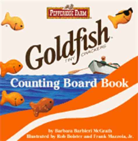 Counting Board Book pepperidge farm goldfish tiny crackers counting board book