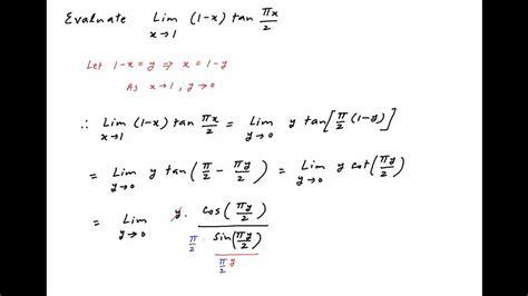 lim x tende a 0 iit 1978 find the limit of 1 x pi x 2 as x tends