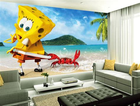 spongebob s living room buy wholesale spongebob squarepants wallpaper from china spongebob squarepants wallpaper