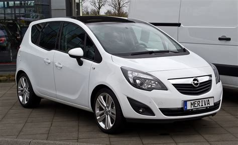 Opel Meriva B Wiki opel meriva b