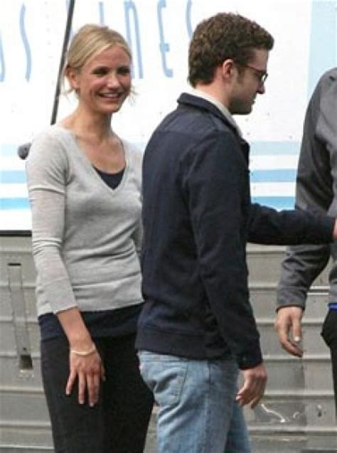 Jt And Cameron Split by Cameron Diaz And Justin Timberlake Back Together On Set