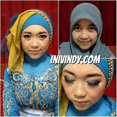 tutorial hijab pengantin ala inivindy video tutorial hijab wisuda ala inivindy ini vindy yang