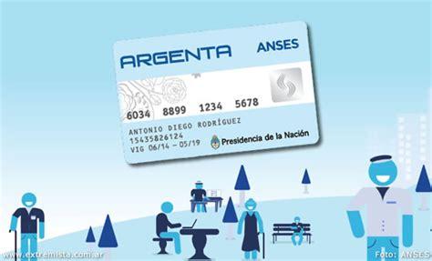 la tarjeta argenta de anses para jubilados consultar saldo de la tarjeta argenta de anses