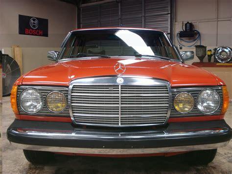 Mercedes Diesel Cars For Sale by 1978 Mercedes 300d Diesel Orange On Palomino Classic