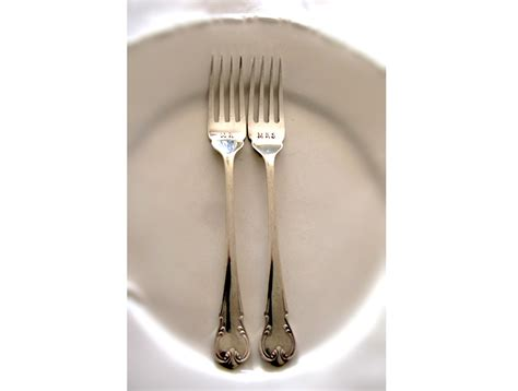 unique cutlery wedding vintage hand sted silver plate cutlery ashberry epns unique engagement gift fork