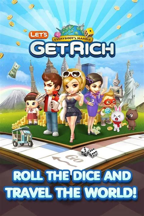 mod game get rich android line let s get rich v1 1 5 android apk mod