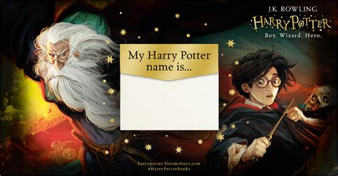 harry potter names harry potter harry potter name generator harry potter names harry potter books