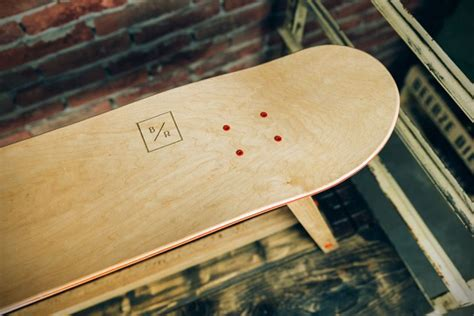 Handmade Skateboard - company makes beautiful furniture out of skateboard