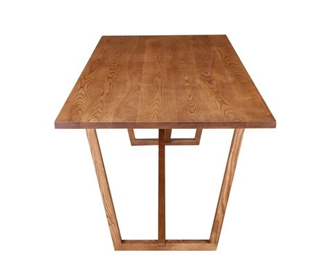 ark walnut wood dining table brickell collection modern