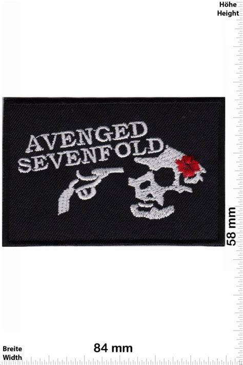 A7x Avenged Sevenfold Metal Band avenged sevenfold patch back patches patch keychains