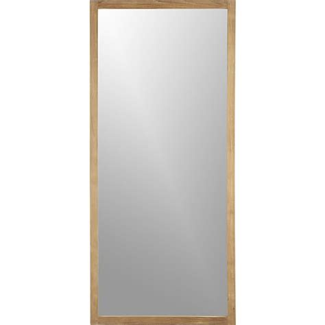 linea floor mirror crate and barrel
