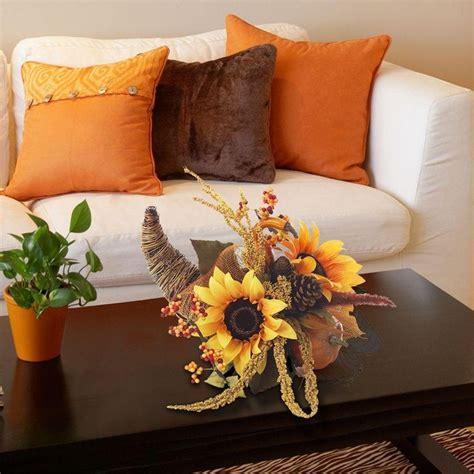 elegant sunflower cornucopia    natural vine