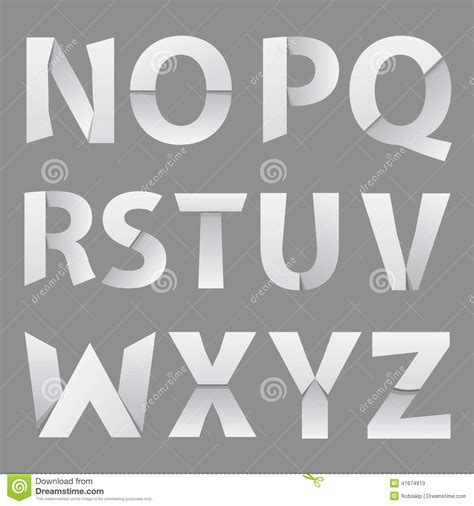 thesis abstract font size abstract paper font letter 2 stock vector image 41674919