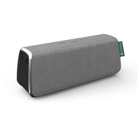 Speaker Bluetooth Mixstyle Fugoo Style Portable Bluetooth Speaker Silver F6stss01 B H