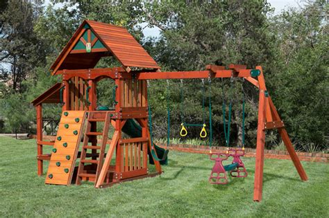 Wooden Swing Set with slide  Houston & Dallas