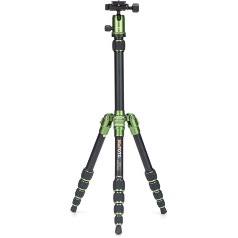 mefoto backpacker travel tripod green a0350q0g b h photo