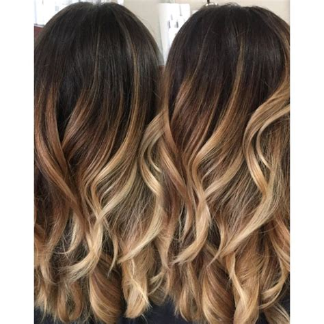 trendy hair highlights colormelt balayage color melt