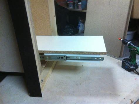 fabriquer un tiroir fabriquer un plateau coulissant daiit