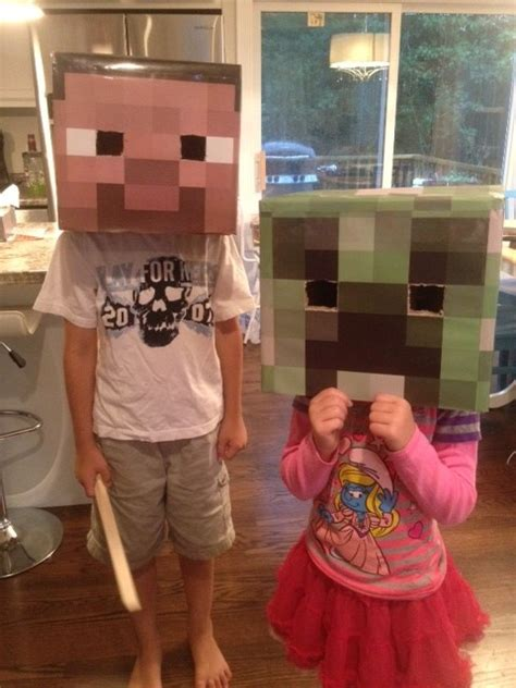 diy steve minecraft costume how to make diy minecraft steve creeper