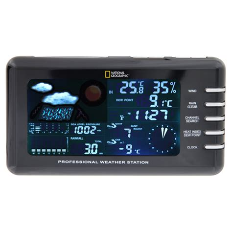 pro national geographic 331nc weather station temperature